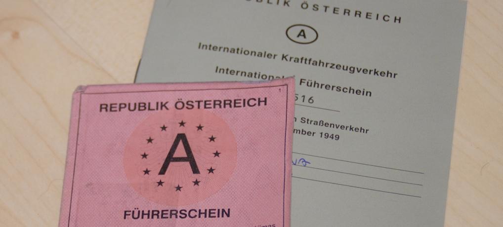 Mein nationaler und internationaler Führerschein