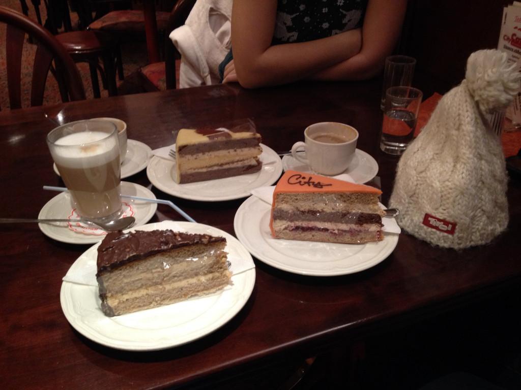 Nuss-, Lienz- und City-Torte für Naschkatzen