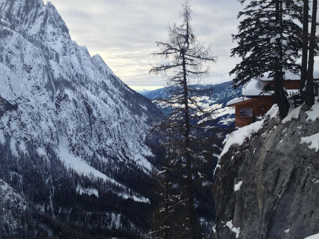 Dolomitenhütte auf 1.620 Meter