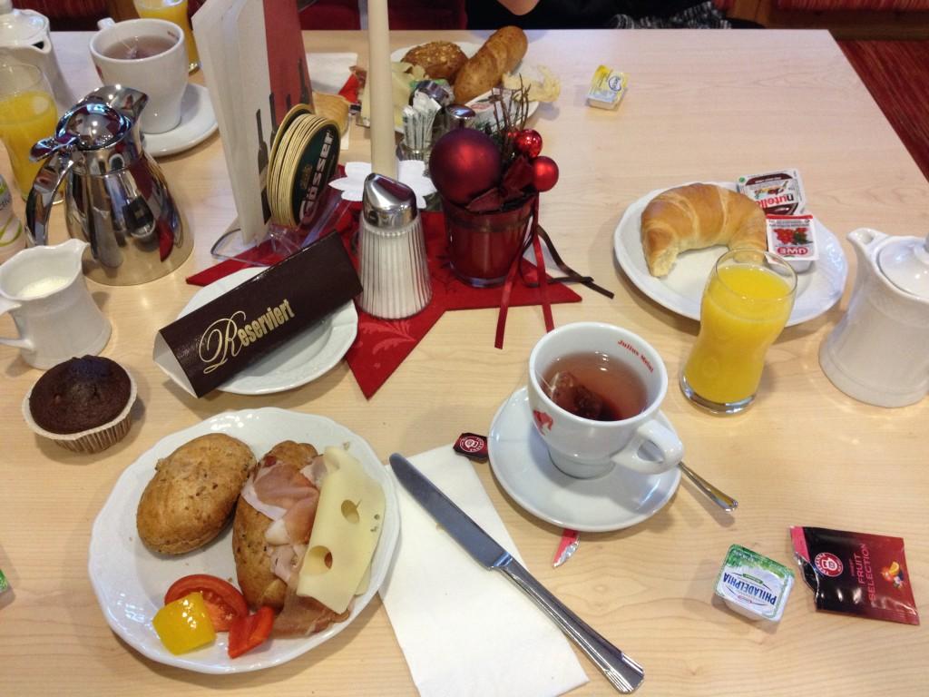 Frühstück am Altjahrstag