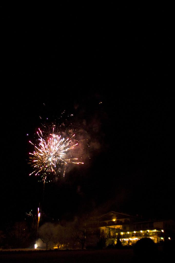 Feuerwerk am Haidenhof