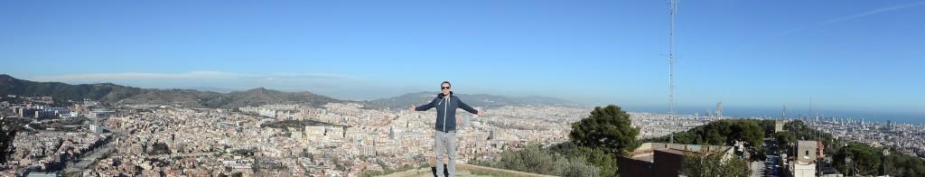 Panorama vom Búnker del Carmel (Klicken zum Vergrößern)