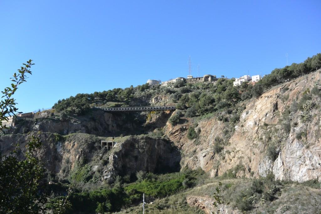 Búnker del Carmel von unten