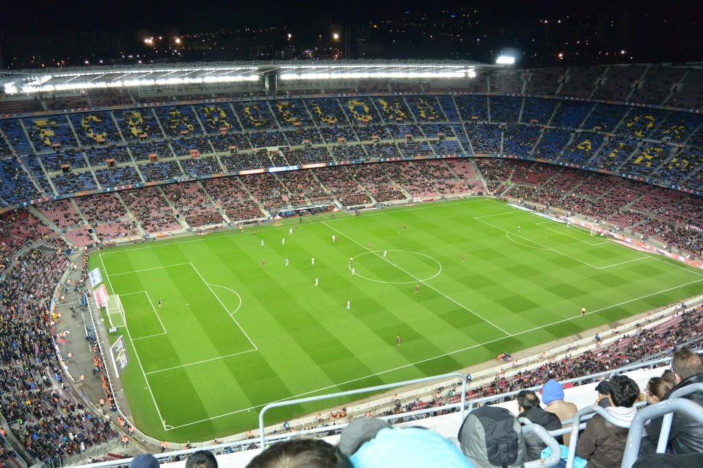 Camp Nou von oben
