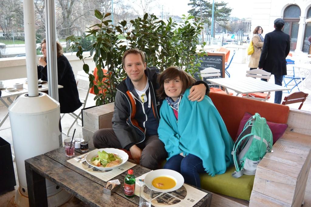 Mittagessen im Városliget Café & Bar