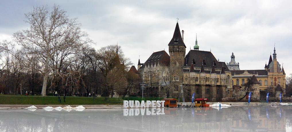 Eislaufplatz vor dem Landwirtschaftsmuseum
