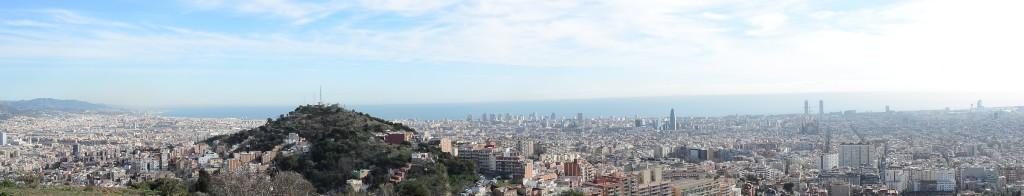 Panorama von El Carmel.