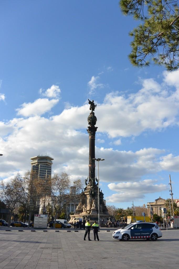 Mirador de Colón von unten