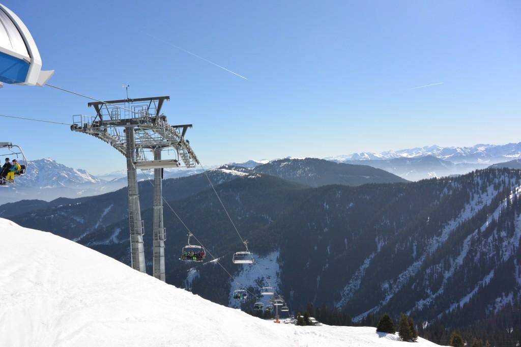 Sonne und Schnee auf 1.760 Meter Seehöhe