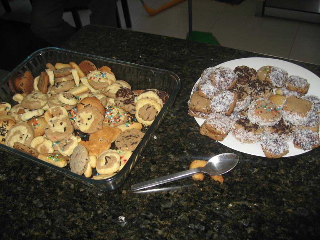 Das Abenteuer des Keksebackens mit den Kindern