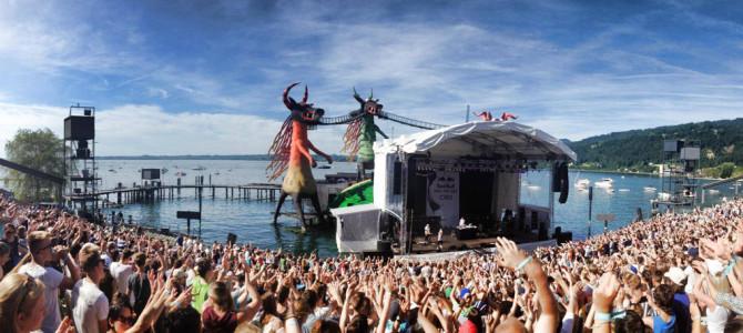 Kulturhighlights in Bregenz: Seebühne und Jazz Festival
