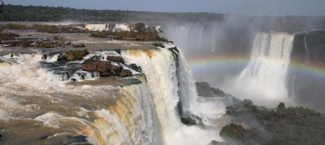 Iguaçu Wasserfälle, Tag 1: Brasilien