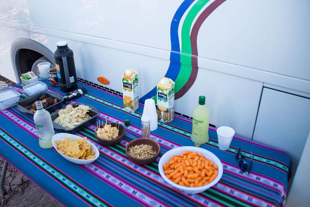 Pisco Sour und Snacks - inkludiert bei den meisten Touren!