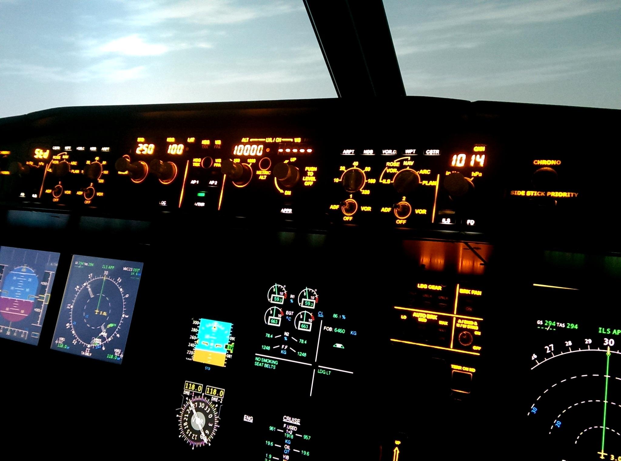 Flugsimulator_Steuerung