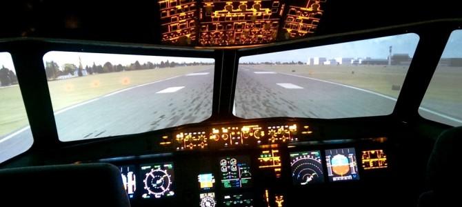 Im Flugsimulator – Speedwissen zum Abheben