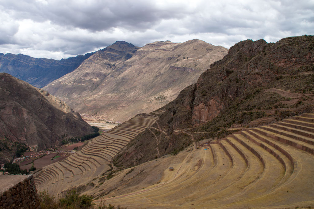Die Terrassen von Pisaq