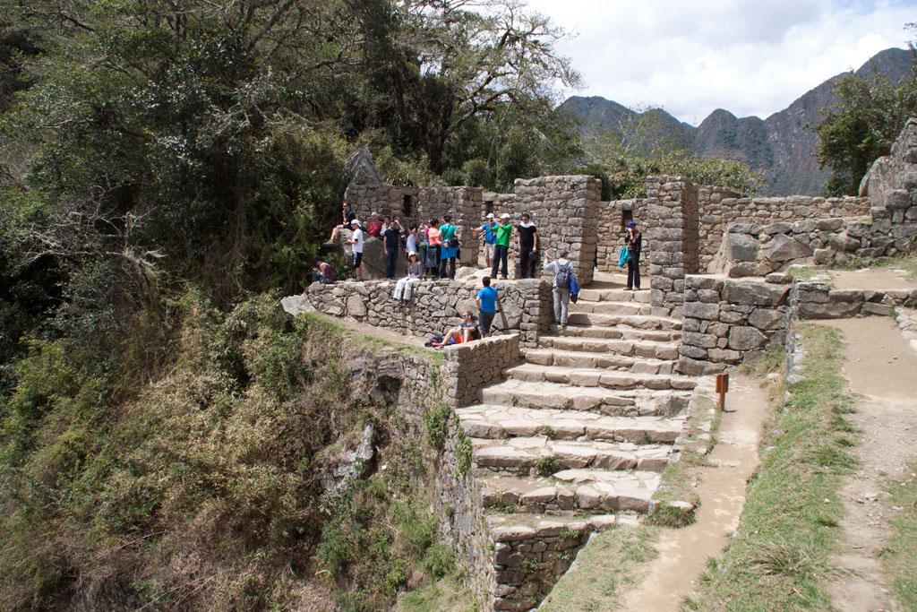 Sun Gate über Machu Picchu