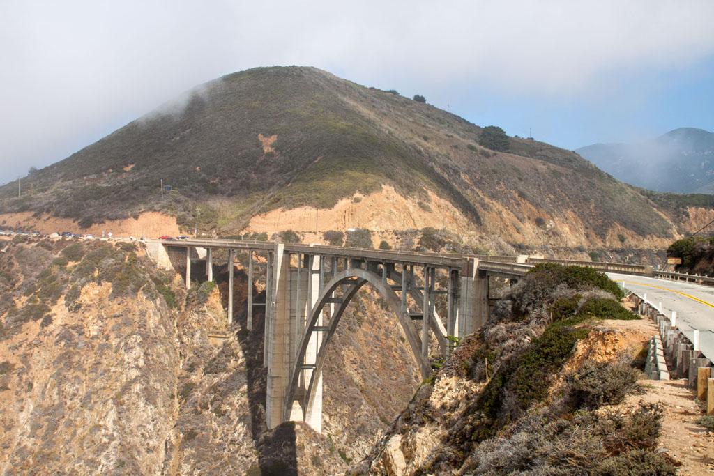 Bixby Canyon Bridge - die aus dem gleichnamigen Song von Death Cab for Cutie!