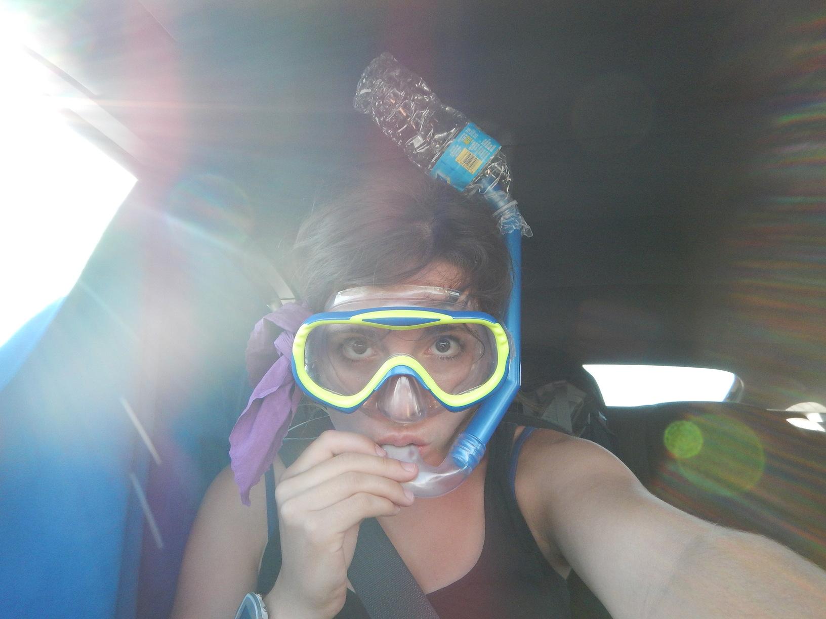 """selbstoptimierte"" Taucherbrille - Key West, Florida"