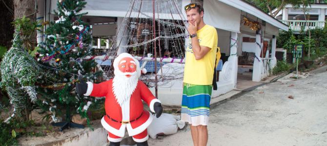 Weihnachten am Strand: Wie es wirklich ist!