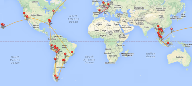 203 Tage um die Welt: Mein Reisejahr 2014
