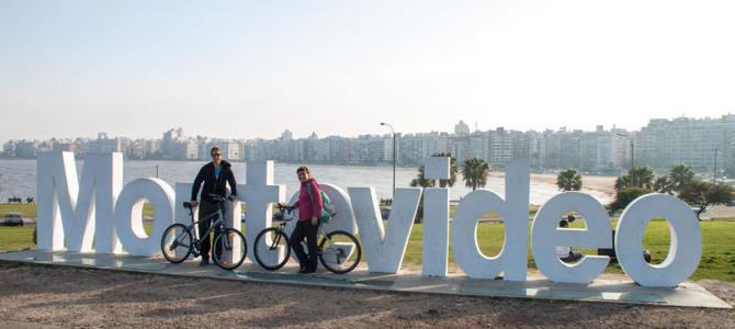 Mit dem Fahrrad durch Montevideo