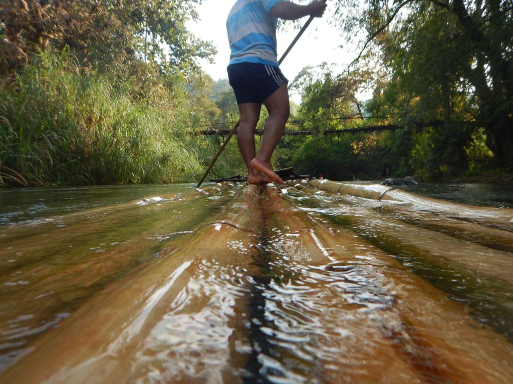 Bamboo Rafting Doi Inthanon Chiang Mai