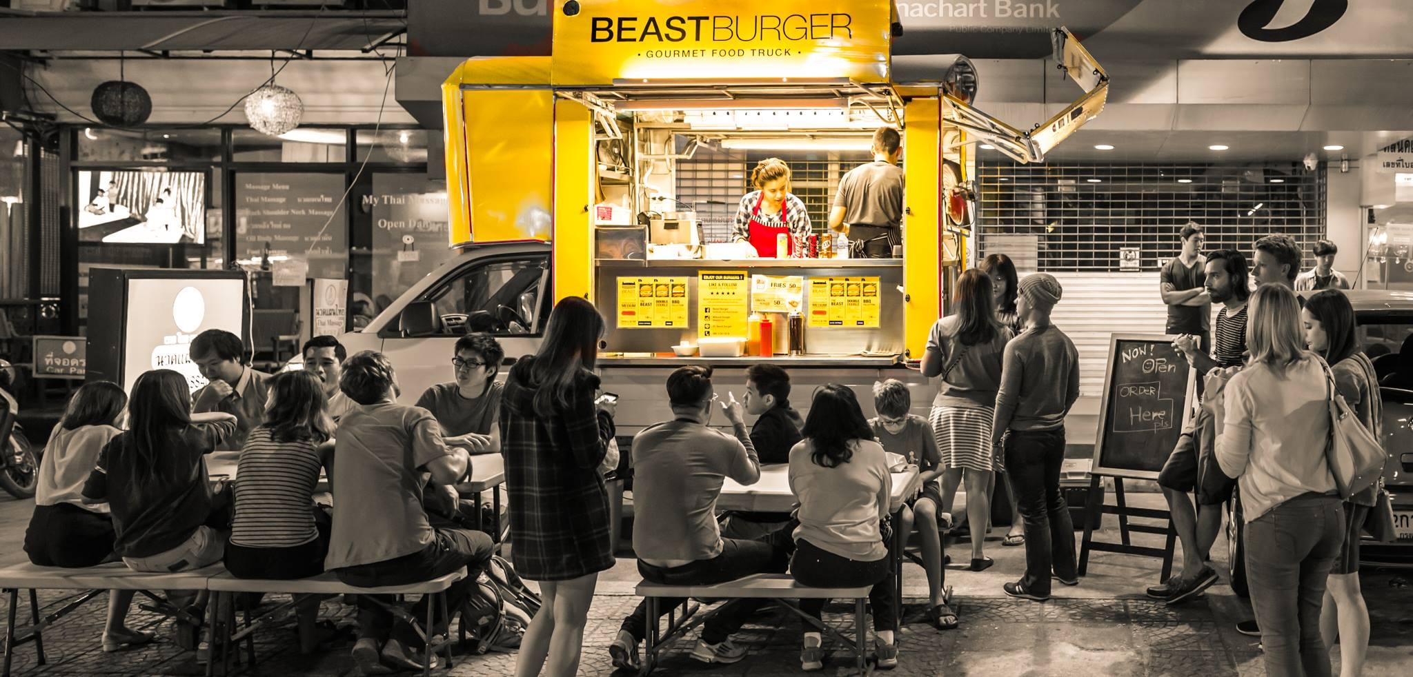 (c) Beast Burger