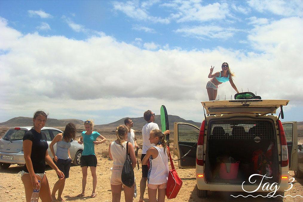 <h2>Tag 3 im Surfcamp</h2>