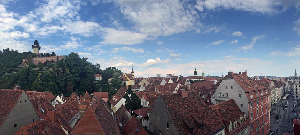 Graz Dächer UNESCO-Weltkulturerbe