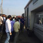 Menschenmenge-Indien