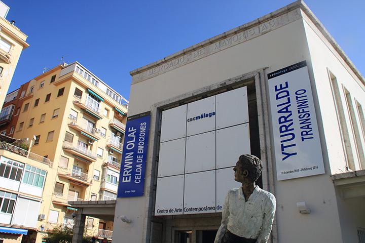 Unscheinbares Äußeres, tolle Ausstellungen im Inneren: das Centro de Arte Contemporáneo von Málaga (CAC)