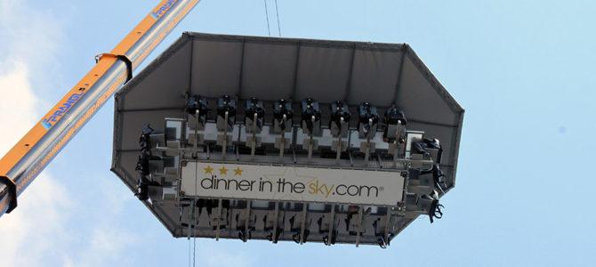 Dinner in the Sky: Kulinarikabenteuer in luftigen Höhen