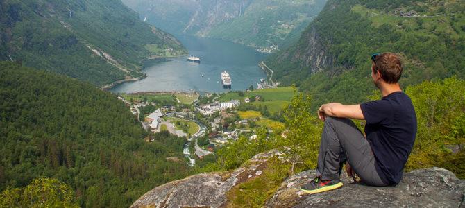 Geirangerfjord: Mit dem Auto zum schönsten Fjord Norwegens