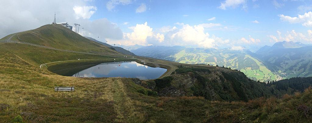 Gipfelpanorama am Schattberg