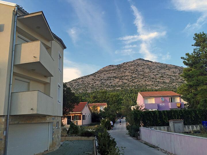 Vom Appartement ins Velebit-Gebirge ist es nur ein Katzensprung ...
