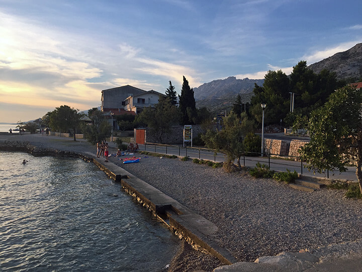 Der Strand von Starigrad