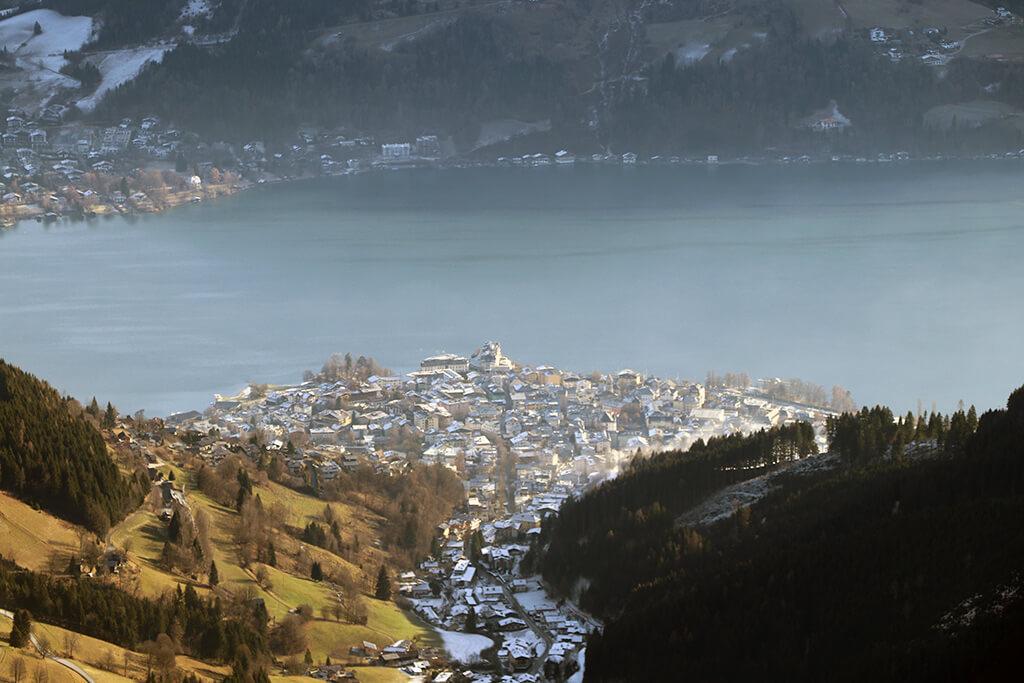 Kitzsteinhorn mit Blick Richtung Zell am See