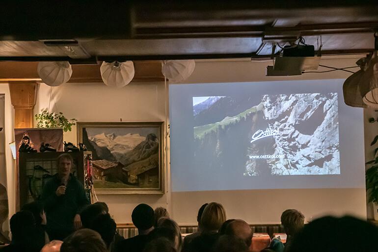 Steve House Vortrag im Matreier Tauernhaus