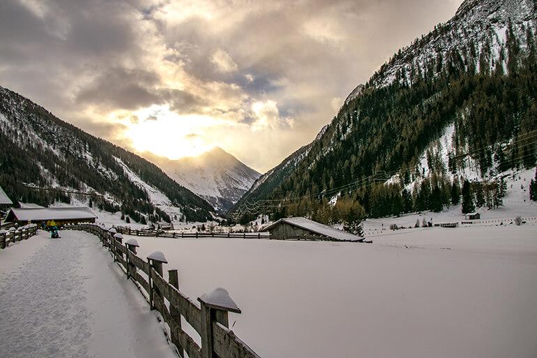 Gschlösstal Richtung Matreier Tauernhaus in Osttirol