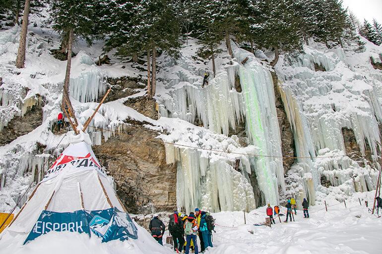 Eispark Osttirol im Gschlösstal