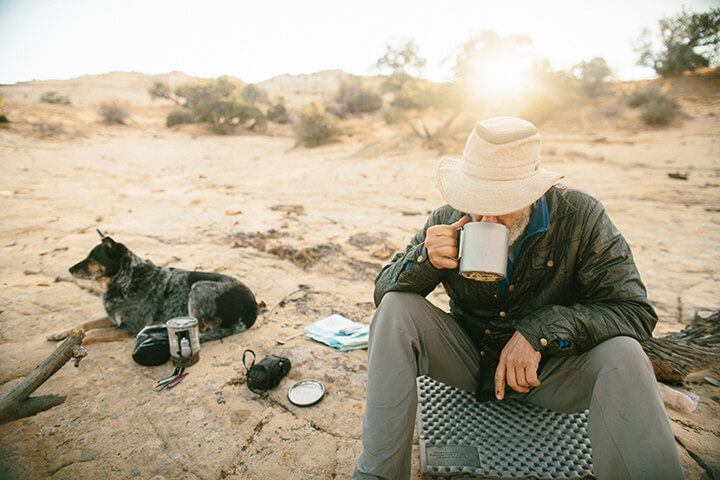Ace and the Desert Dog - credit: Forest Woodward
