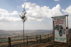 Aussichtspunkt am Great Rift Valley