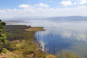 Lake Nakuru Baboon Cliff Lookout Panorama