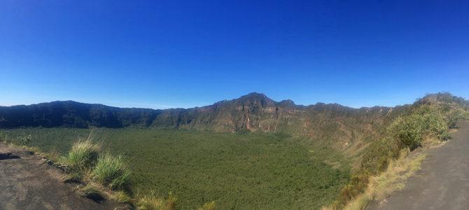 Vulkankrater-Wanderung am Mount Longonot in Kenia