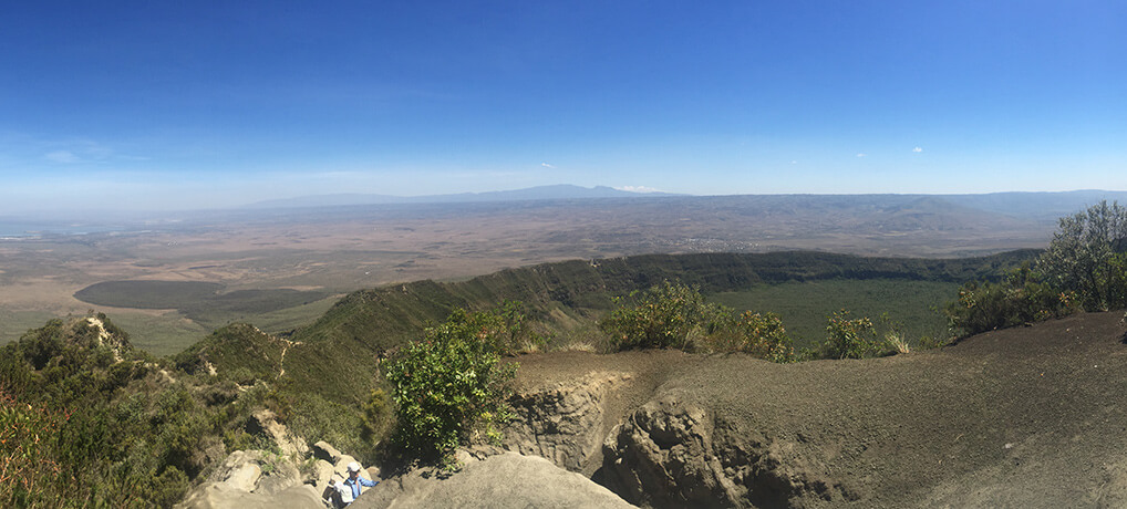 Mount Longonot Krater