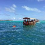 Tauchboote vor Mnemba Island