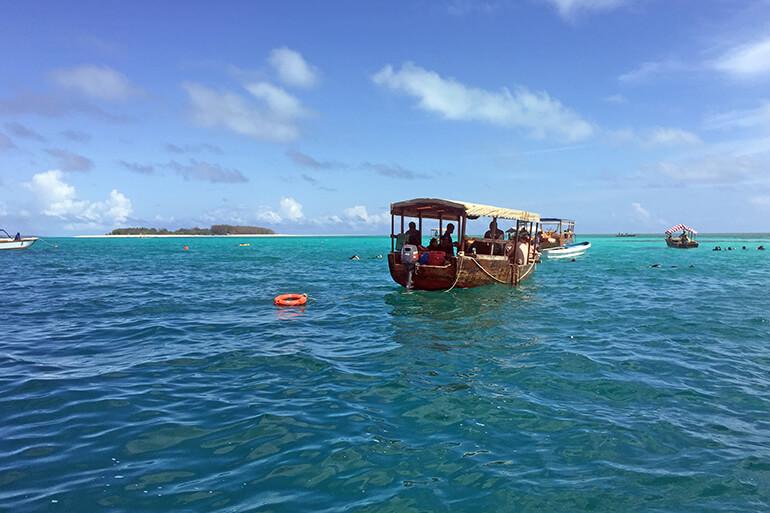 Nungwi Beach auf Sansibar