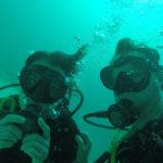 Sansibar Unterwasser Selfie