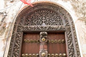 Arabische Tür in Stone Town